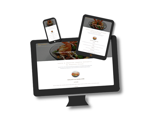 site web restaurant